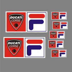 Ducati Corse Sticker - Autocollants 70