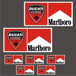 Ducati Corse Sticker - Autocollants 71
