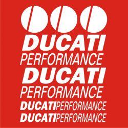 Ducati Performance Sticker - Planche Autocollants 72