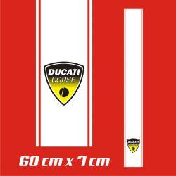 Ducati Corse Stickers - Bande Autocollante 86