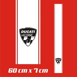 Ducati Corse Stickers - Bande Autocollante 88