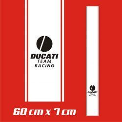 Ducati Team Racing Stickers - Bande Autocollante 90