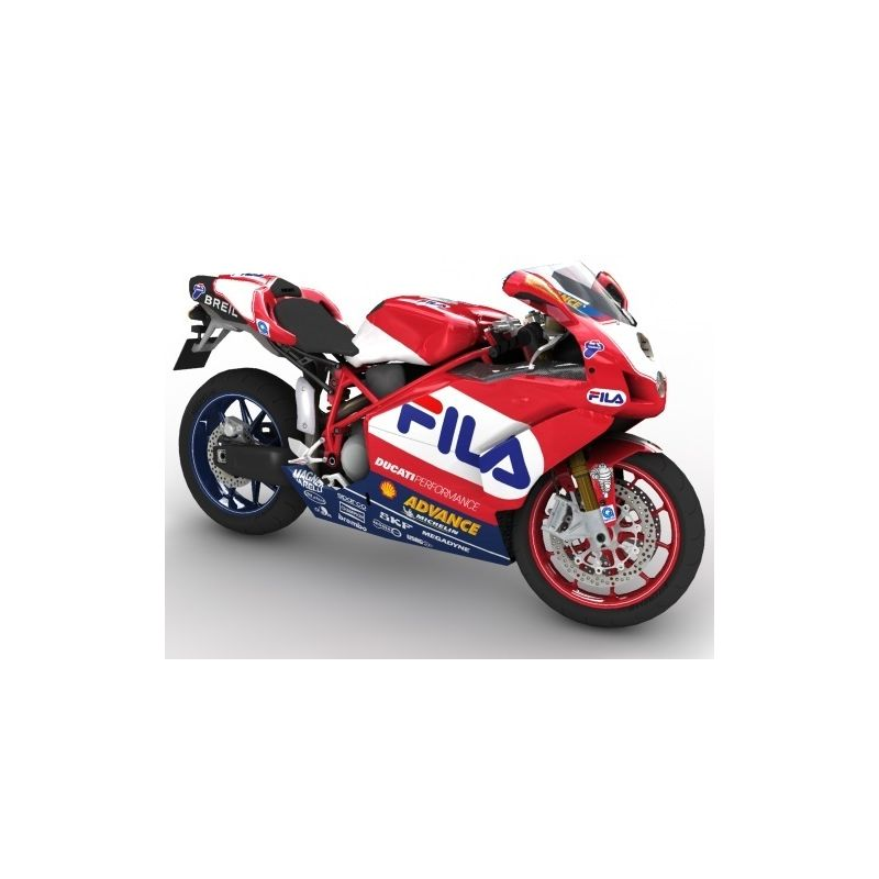 Ducati Fila Kit Déco Stickers - Autocollants 108