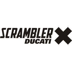Ducati Scrambler Sticker - Autocollant 149