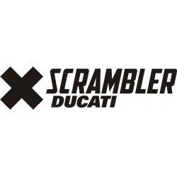 Ducati Scrambler Sticker - Autocollant 150