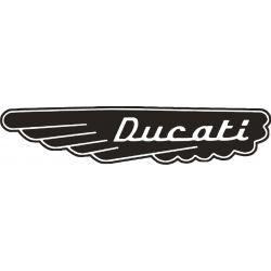 Ducati Sticker - Autocollant 154