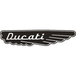 Ducati Sticker - Autocollant 155