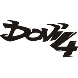 Dow4 Dow Sticker - Autocollant DOW4