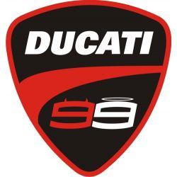 Ducati Sticker - Autocollant 181