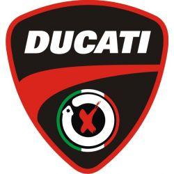 Ducati Sticker - Autocollant 182