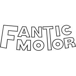 Fantic Motor Sticker - Autocollant 4