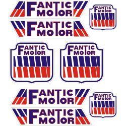 Fantic Motor Stickers - Planche autocollant 8