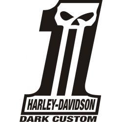 Harley Sticker - Autocollant Harley Davidson 29