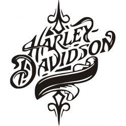 Harley Sticker - Autocollant Harley Davidson 33