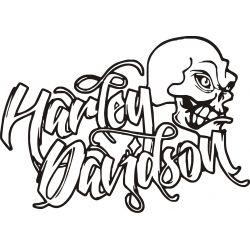 Harley Sticker - Autocollant Harley Davidson 34