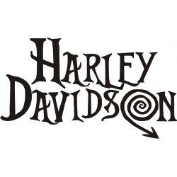 Harley Sticker - Autocollant Harley Davidson 35