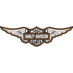 Harley Sticker - Autocollant Harley Davidson 40