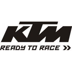 KTM Sticker - Autocollant KTM Racing 14
