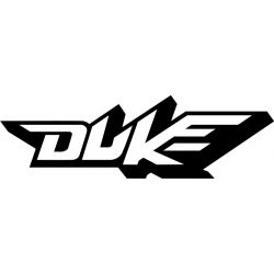 KTM Duke Sticker - Autocollant KTM Racing 17