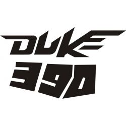 KTM Duke 390 Sticker - Autocollant KTM Racing 24