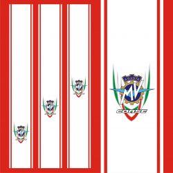 MV Agusta Stickers - Bandes MV Agusta 1