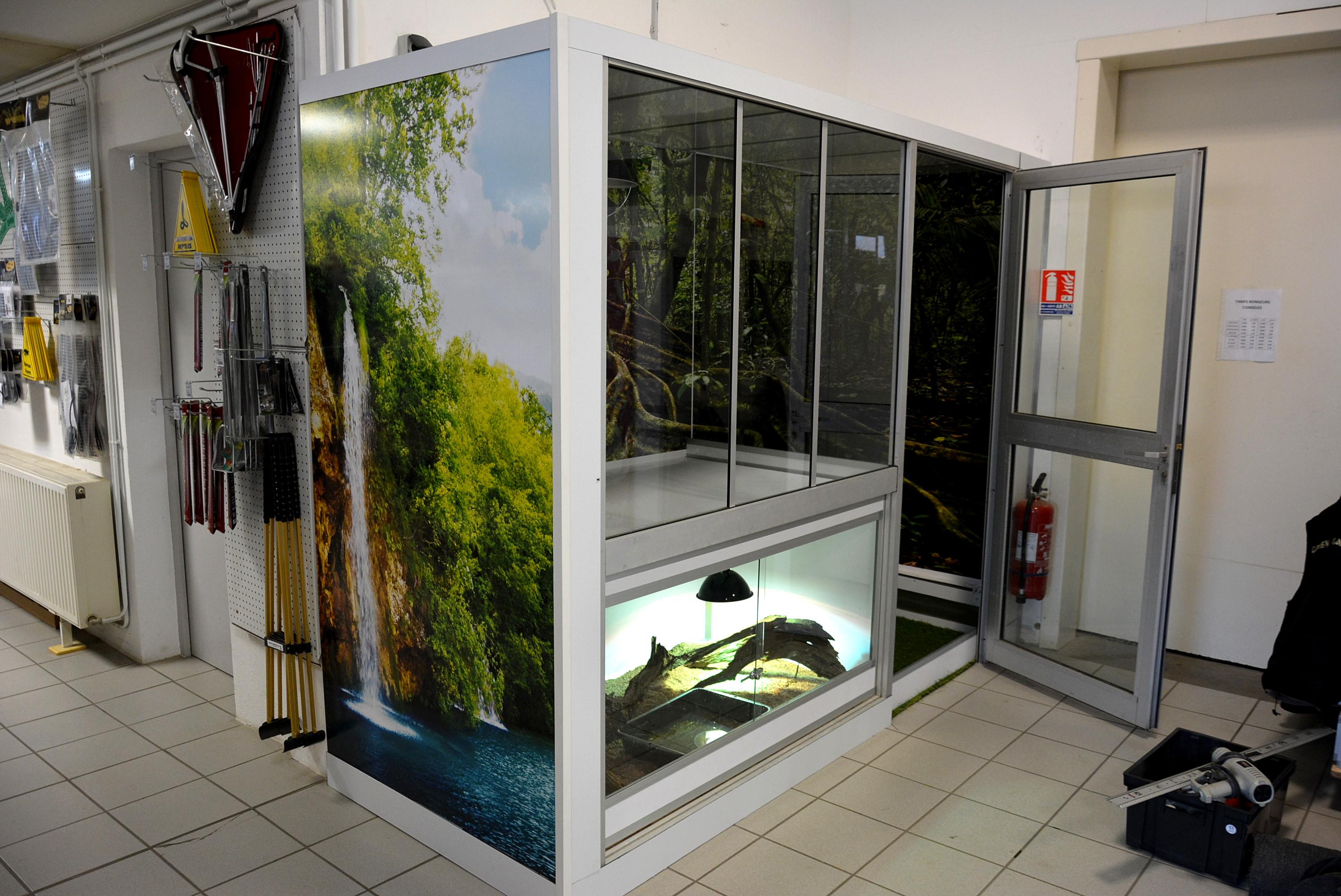 autocollant terrarium